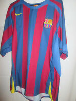 "Barcelona 2004-2005 Home Football Shirt Size Large 42""-44"" /34957 henderson"