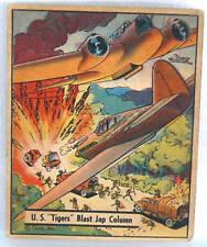 "# 42 U.S.""TIGERS"" BLAST JAPANESE COLUMN GUM 1942"