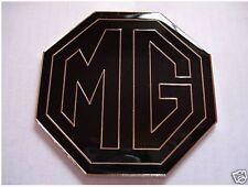 NEW Enamel Black and Chrome MG BADGE MGB ZR ZS ZT 59mm