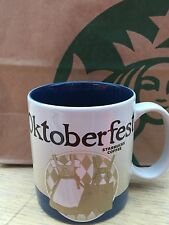 STARBUCKS City Munchen Germany Oktoberfest 2015 NEW Coffee Tea Mug Cup Glass