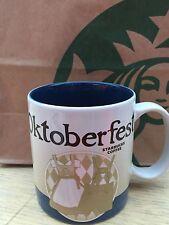 STARBUCKS City Munchen Germany Oktoberfest 2015 NEW Coffee Tea Mug Cup Glass