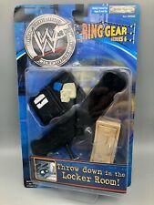 WWF Ring Gear Series 6 VGC Rare Jakks Locker Room Accessories Grapple WWE 18