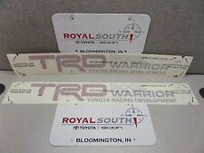 Toyota Tundra TRD Rock Warrior Red Decal Emblem Sticker Kit Genuine OE OEM