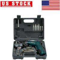 45 in 1 Rechargeable Wireless Cordless Electric Screwdriver Drill Power Tool Kit