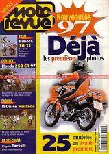 MOTO REVUE 3245 HONDA CB 500 CR 250 R BIMOTA YB 11 YZF 1000 Thunderace 1996