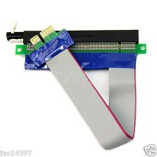 PCI-E Extension Cable 1X To 16X Slot Riser Extender Card Flex cable Adapter