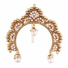 Ethnic Indian Kundan Hair & Head Jewelry Fashion Bridal Hair Women Juda Pin