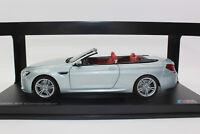 ! SALE ! Paragon 80432253656 BMW M6 Cabriolet Silverstone 2012 1:18 NEU in OVP