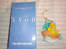 Avon Easter Eggspression Ornament Chick in Sailboat Anchor's Eggway in box