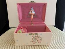 Vintage 1988, 1994 Sanrio - Ballet Slipper Wind Up Jewelry Music Box  Rare Used