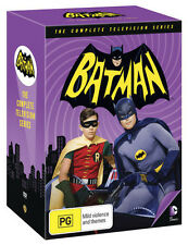 BATMAN Complete Original Adam West TV Series 1 2 3 1960s Collection NEW DVD R4
