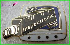 """Pin's """" INSPECTRONIC """" 1964 - 1992 Caméra  #1412"""