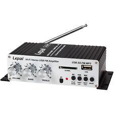 Lepai - LP-A68 - 2 x 15W Mini Amplifier with Remote USB MP3 Media Card FM