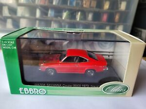 EBBRO OLDIES - MAZDA RX3 SAVANNA COUPE [RED] VHTF NEAR MINT *COMBINED POST*