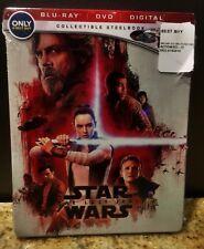 Star Wars The Last Jedi Steelbook Bluray/Dvd/Digital Copy Brand New! On Hand!!!