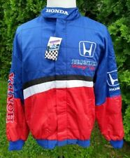 Honda Racing F1 Formula 1 Officially Licensed Stitched Vintage Racing Jacket NWT