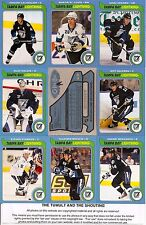 2008-09 OPC O-Pee Chee Retro Tampa Bay Lightning Complete Team Set (35)