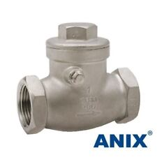 "1/2"" inch Stainless Steel (316) Swing Check Valve NPT - 200WOG"