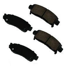 Disc Brake Pad Set-Performance Ultra Premium Ceramic Pads Rear Akebono ASP883