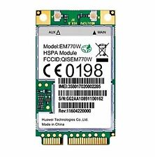 HSPA/UMTS/Edge mini-PCIe módem (huawei em770w)