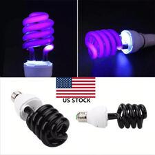 40W Ultraviolet Fluorescent UV Lamp Spiral Energy Saving Light Bulb  E27 220V US