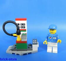 LEGO 3180 Station d'Essence / Pompe à Essence moi Octan SERVICE figurine