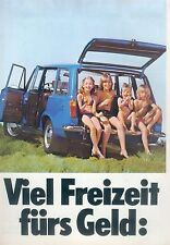 Lada Kombi 1200 1500 GL Prospekt 2/80 car brochure 1980 Auto PKWs Autoprospekt