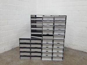 Lot of 7 Sanyo -80 Freezer Storage Racks Lab 55.9cm x 14cm x 29cm