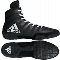 Adidas Varner Wrestling Boots Mens Womens Black White Boxing Shoes Gym Trainers