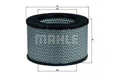 Luftfilter für Luftversorgung KNECHT LX 190
