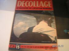 """*** Revue Decollage n°66 Le G.A.L Owlet 45 / """" Zazou """" / Le Suc 10 """" Courlis """""""