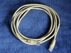 RJ45 Netzwerk Anschlusskabel gelb CAT 5 Patch Cable PC Computer