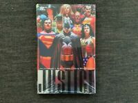 DC JUSTICE Hardcover ALEX ROSS Batman Superman Wonder Woman JLA League Sealed