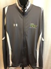 USF Under Armour South Florida Bulls Basketball USF Gray JacketSZ Large L MINT