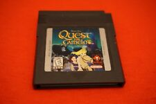 Quest for Camelot (Nintendo Game Boy Color, 1998) GBC Game