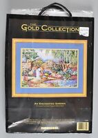 Dimensions Gold Collection An Enchanted Garden Cross Stitch 3780 NEW Sealed 1994