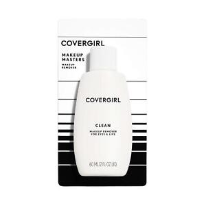 COVERGIRL Clean Makeup Remover for Eyes & Lips, 2 oz (Packaging May Vary) Old