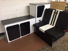T4 T5 VITO HIACE BONGO KITCHEN CUPBOARD CAMPER INTERIOR UNIT + ROCK N ROLL BED