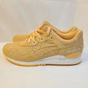 New Asics Gel Lyte III 3 Apricot Ice Easter Suede Pack H803L-9595 Men's Size 9