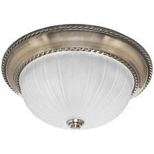 Deckenleuchte antik altmessing Deckenlampe rustikal Lampe Ø 330