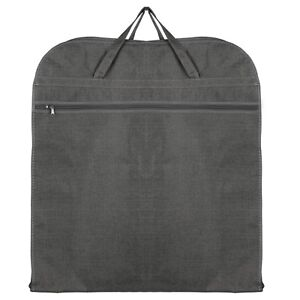 Hoesh UK Grey Breathable Travel Suit Jacket Carrier Protector Garment Cover Bags