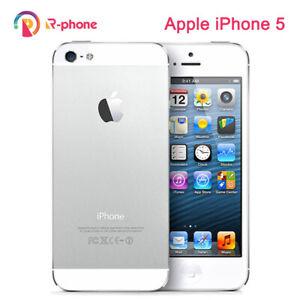 Apple iPhone 5 Original  GSM 3G 16GB 32GB 64GB ROM Wifi 8MP 4.0'' IOS
