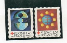 Finlandia Cruz Roja Serie del año 1984 (DS-474)