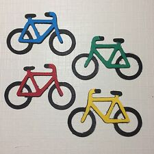 Bicycle Bike Cycles Bikes Exercise Tour De France UK Die Cuts (Card Toppers)