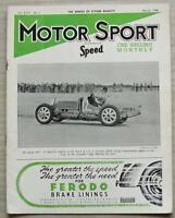 MOTOR SPORT Magazine March 1948 ETTORE BUGATTI  A 1922 TT Sunbeam