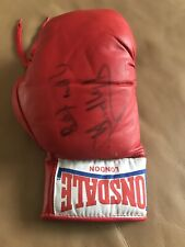 Olympic Boxing Champion Audley Harrison Signed Boxing Glove