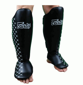 FAIRTEX - Competition Shin Guards - BLACK (SP5)