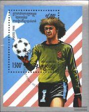 Cambogia Bloque 206 (edición completa) usado 1994 Fútbol-WM ´94, EEUU