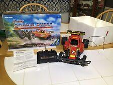Radio Shack Red Arrow Frame Buggy R/c Turbo Car