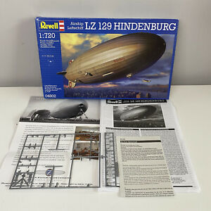 LZ 129 Hindenburg Revell Model Plane BOX WITH INSTRUCTIONS ONLY - See Photos